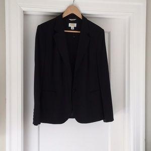 Talbots refined stretch wool jacket
